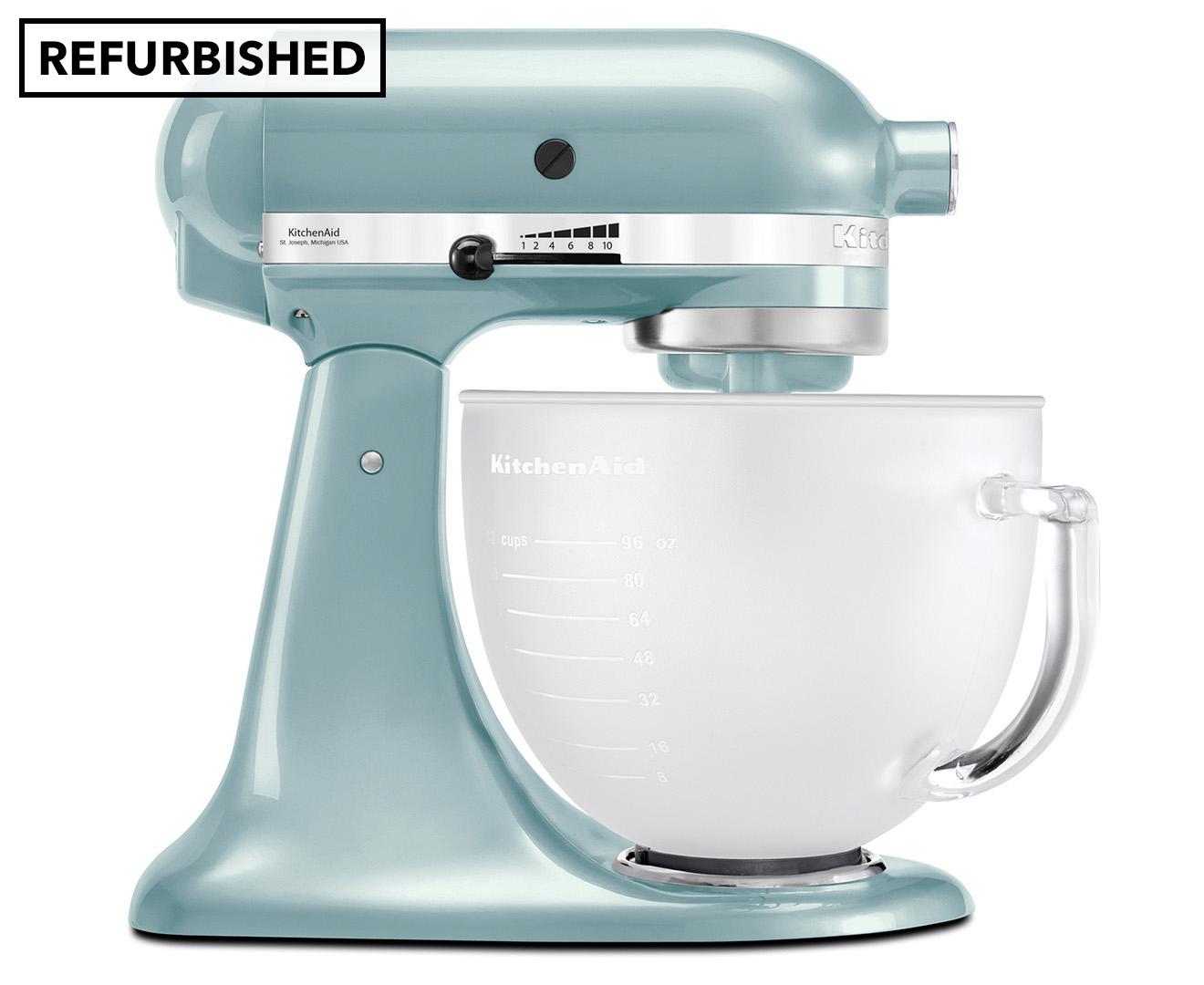 KitchenAid KSM156 Platinum Stand Mixer REFURB - Azure Blue | Catch ...