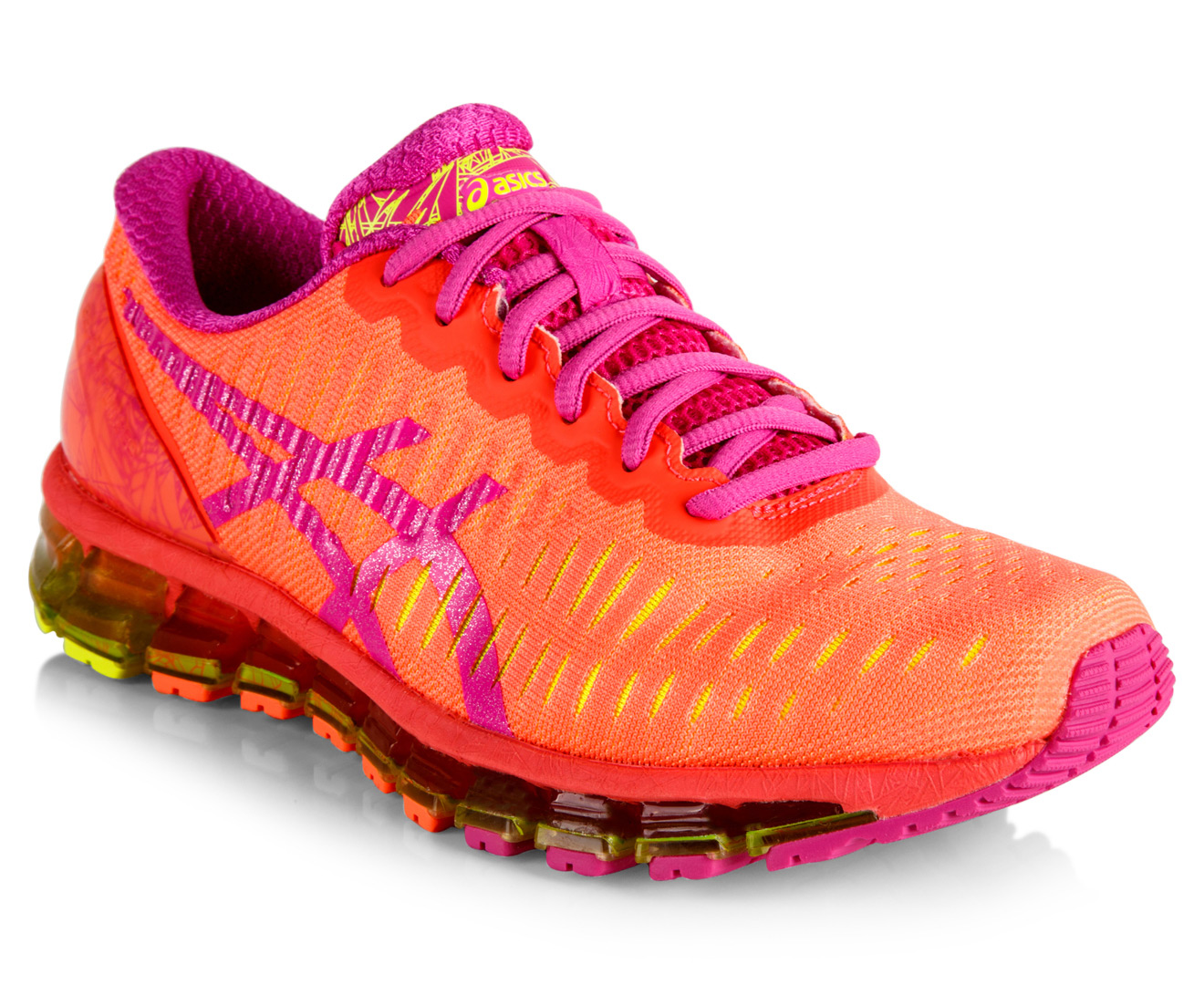 on sale 958ab cc41a ASICS Women s GEL-Quantum 360 Shoe - Coral Pink Glow Flash Yellow    Catch.com.au