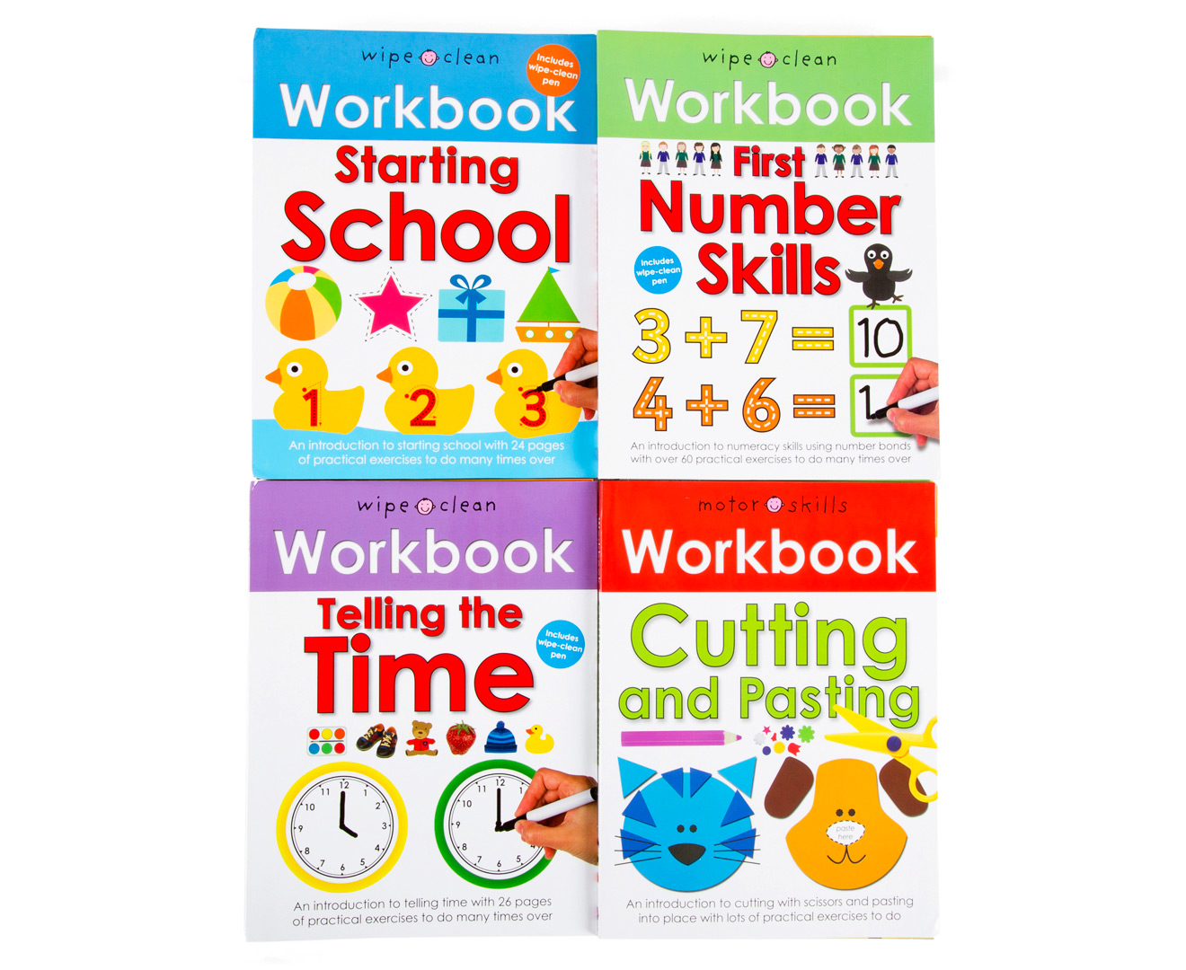 Wipe Clean Early Learning Workbook 8-Pack | Great daily deals at ...