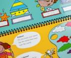 Write & Wipe Early Learning Activities Kit 3