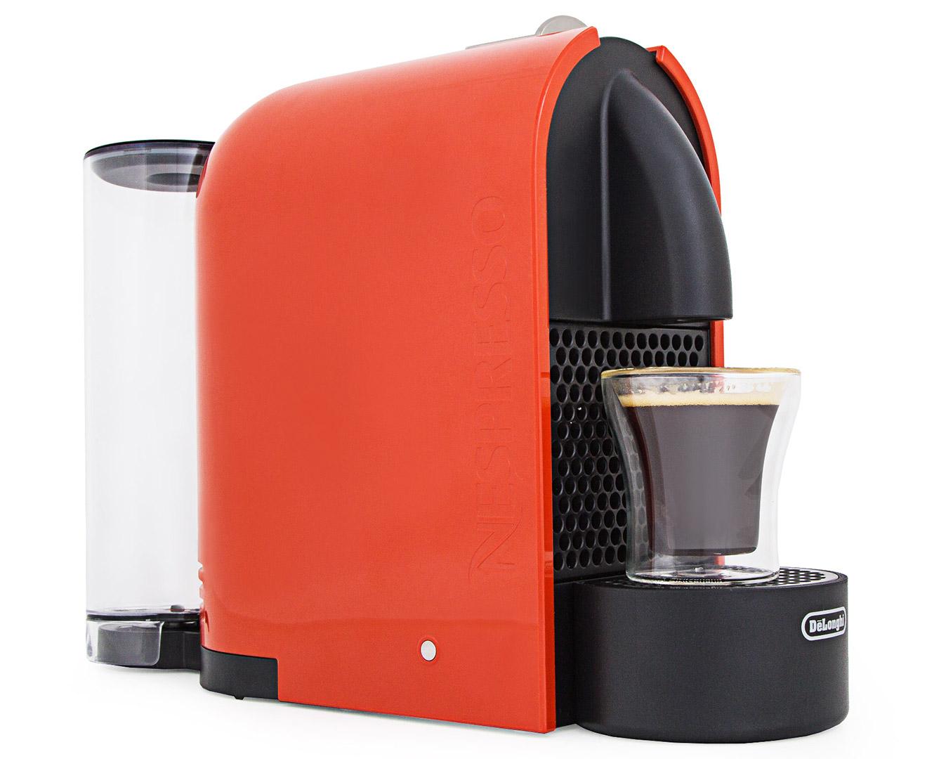 Catch.com.au DeLonghi U Nespresso Coffee Machine - Orange
