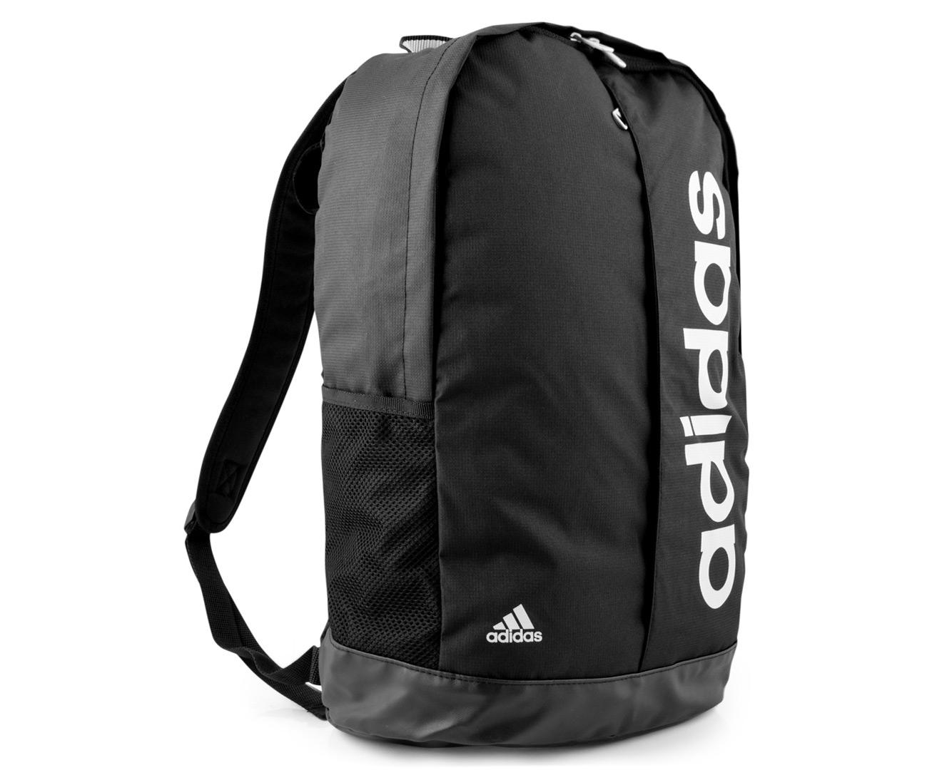6569b32068 Adidas Linear Performance Backpack - Black Grey
