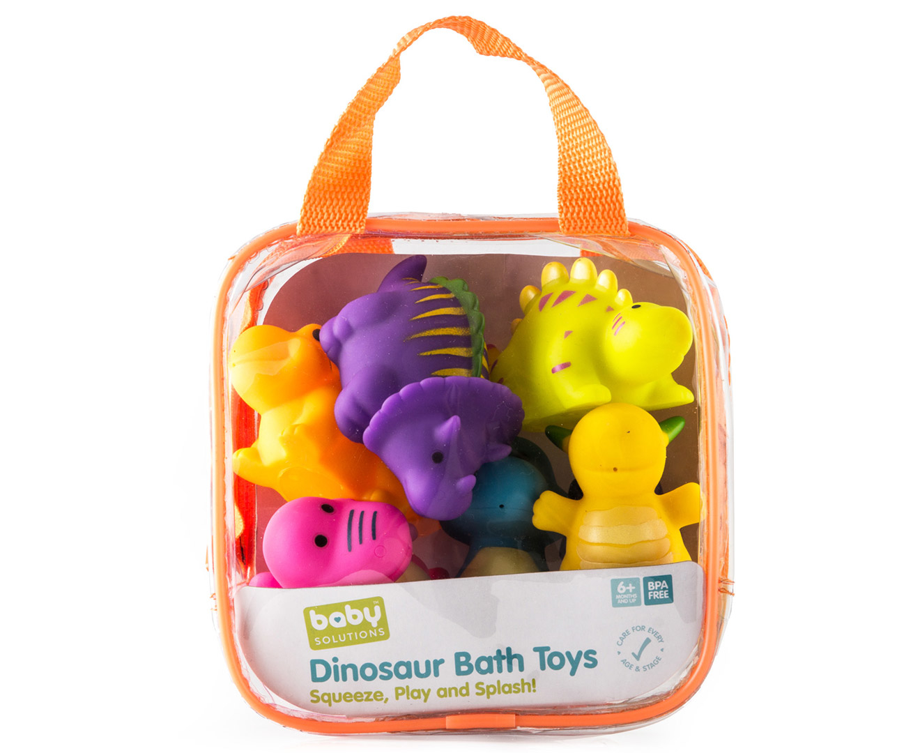 Baby Solutions 6-Piece Dinosaur Bath Toy Set | eBay