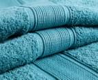 Luxury Living 70x140cm Bath Towel 4-Pack - Teal 2