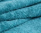 Luxury Living 80x160cm Bath Sheet 2-Pack - Teal 3