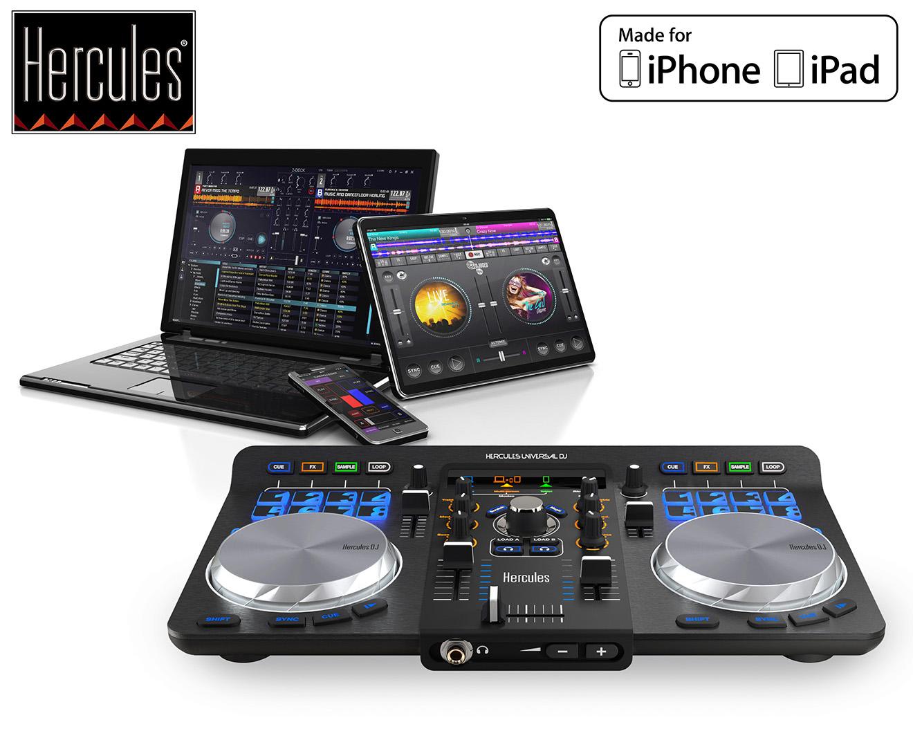 Hercules Universal DJ Controller System