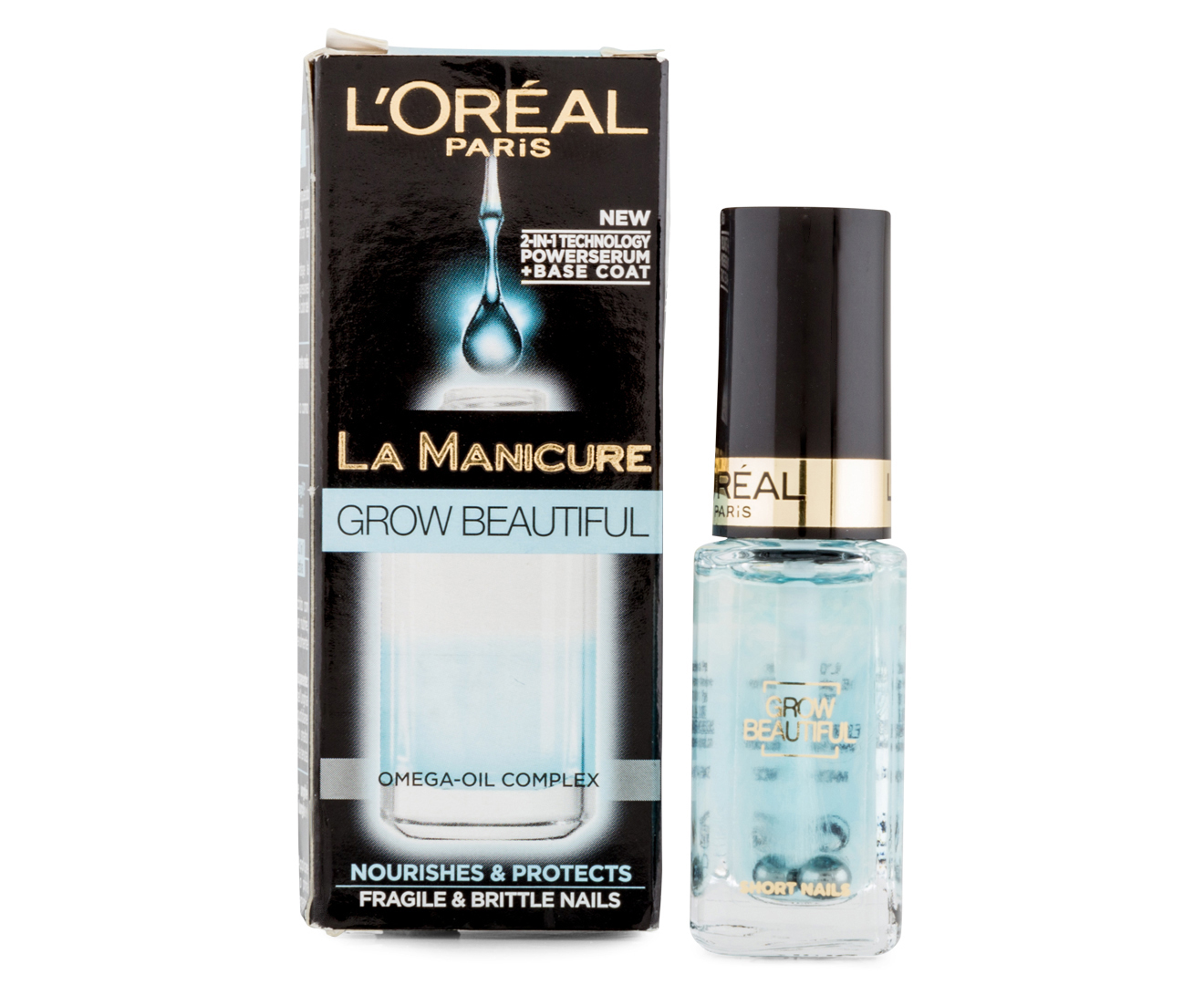 l or al la manicure grow beautiful nail serum 5ml groceries online. Black Bedroom Furniture Sets. Home Design Ideas