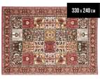 Traditional Compartment 330x240cm Fashion Rug - Red 1