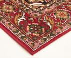 Traditional Compartment 330x240cm Fashion Rug - Red 2