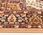 Traditional Medallion 280 x 190cm Rug - Cream 3