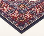 Traditional Medallion 230x160cm Fashion Rug - Blue 2