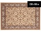 Traditional Design 230 x 160cm Rug - Beige 1