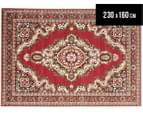 Traditional Medallion 230 x 160cm Rug - Red 1