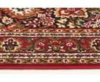 Traditional Medallion 230 x 160cm Rug - Red 3