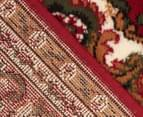 Traditional Medallion 230 x 160cm Rug - Red 4