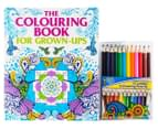 The Colouring Book For Grown-Ups w/Colouring Pencils 1