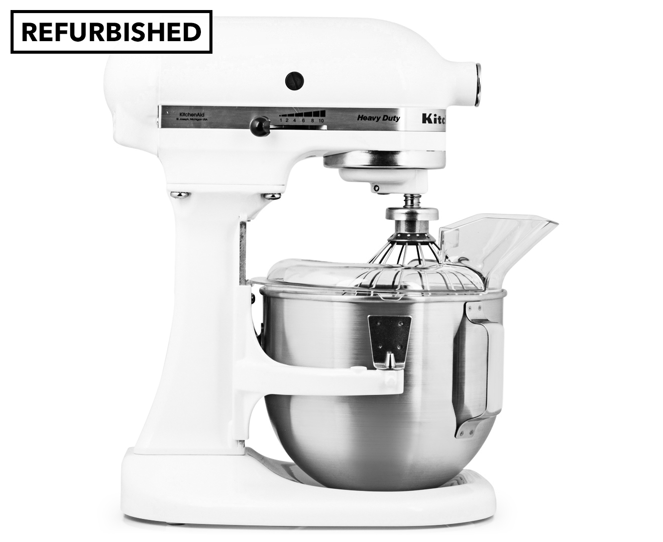 Kitchenaid K5ss Bowl Lift Stand Mixer Refurb White
