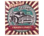 Premium Garage Original Parts 50x50cm Wooden Wall Plaque 1