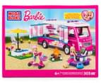 Mega Bloks Build 'N Play Barbie Luxe Camper 1