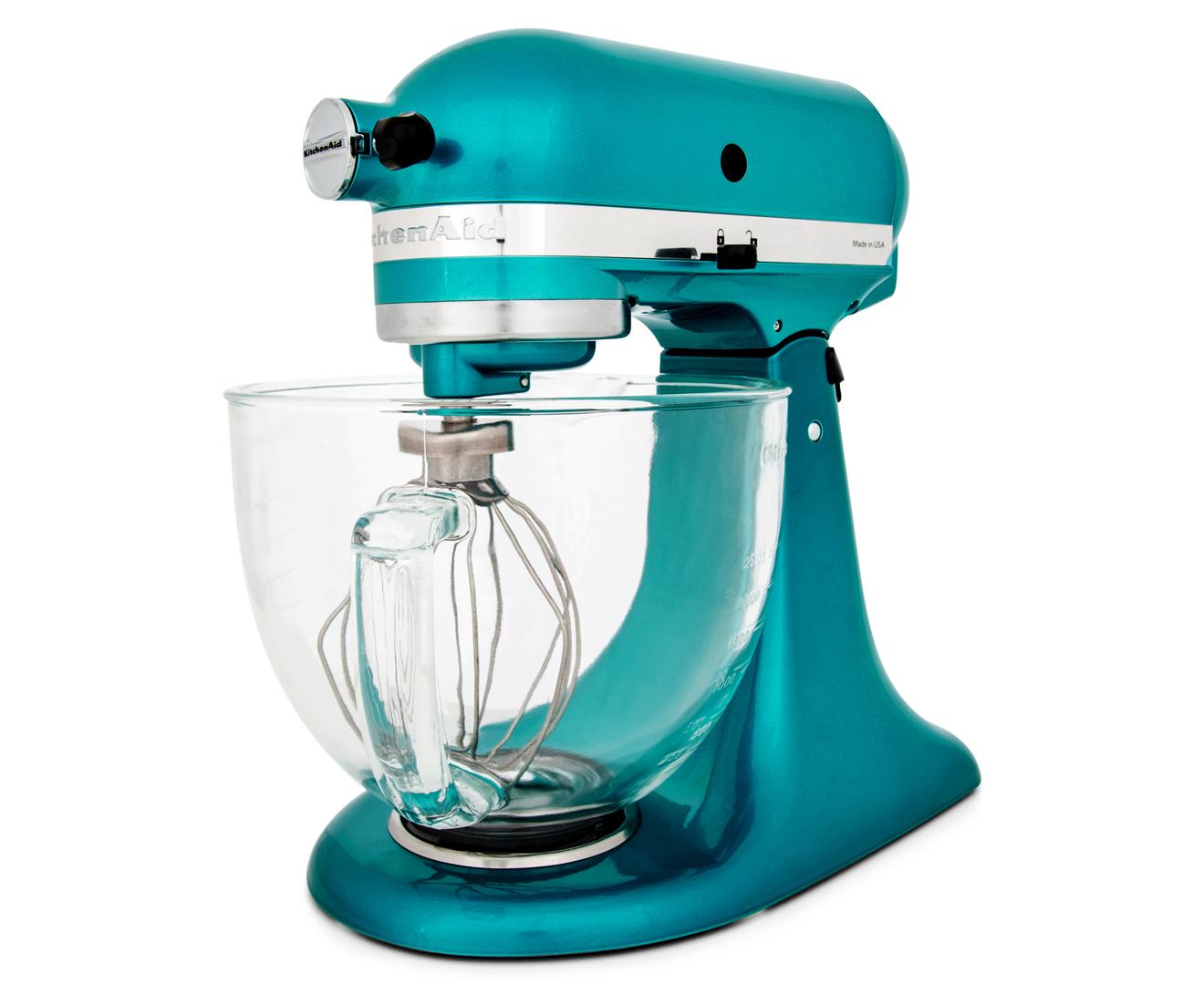KitchenAid KSM155 Artisan Stand Mixer - Sea Glass   Catch.com.au
