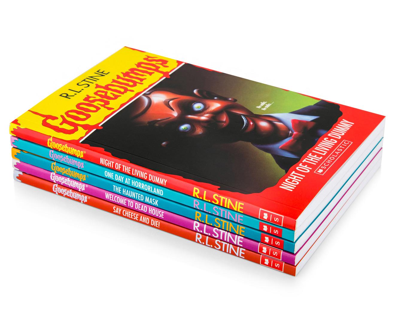 Goosebumps Retro Scream Collection Tin 5 Book Set Catch
