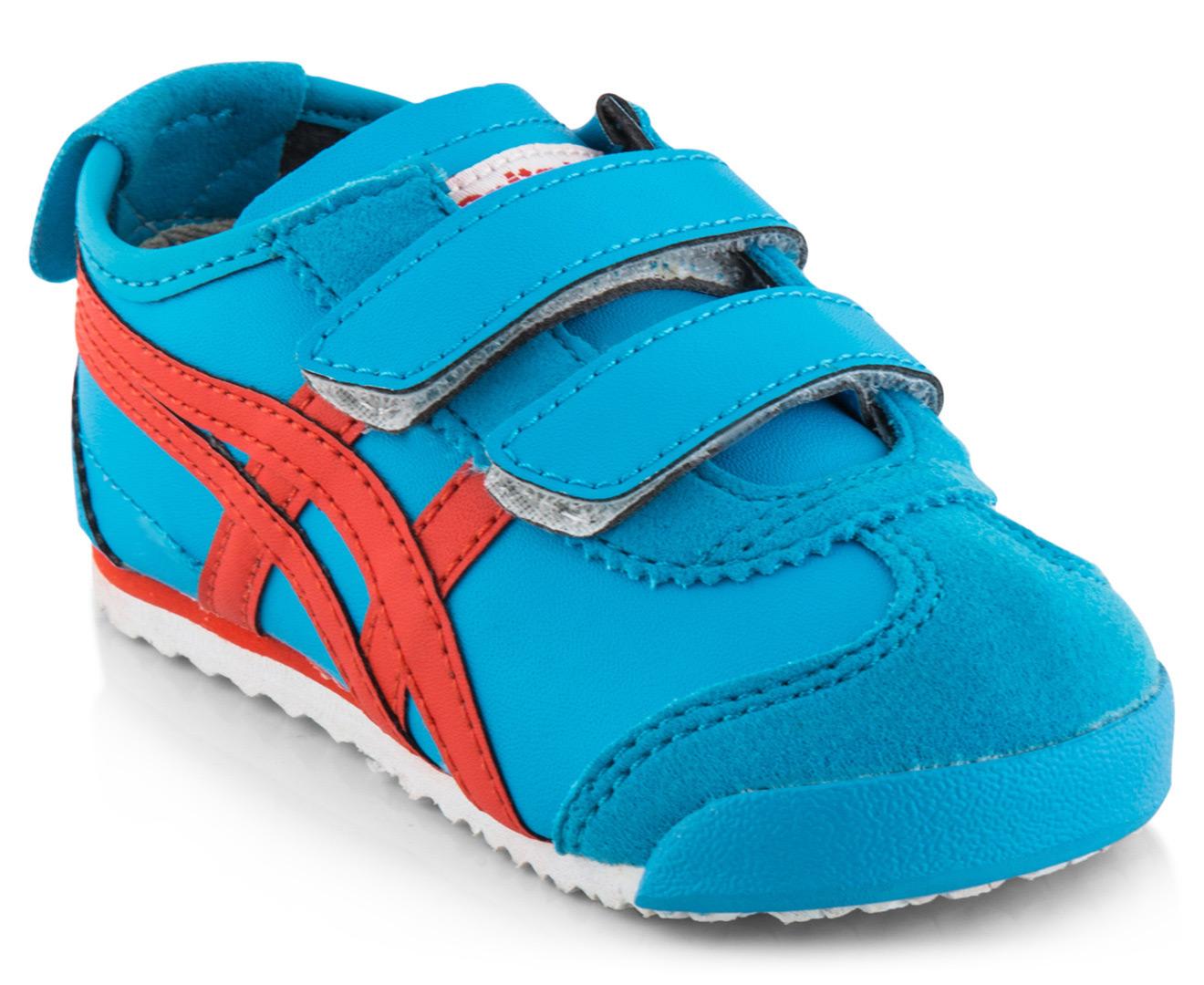 Onitsuka Tiger Toddler Mexico 66 Baja TS Shoe - Malibu Blue/Orange | Great  daily deals at Australia's favourite superstore | Catch.com.au