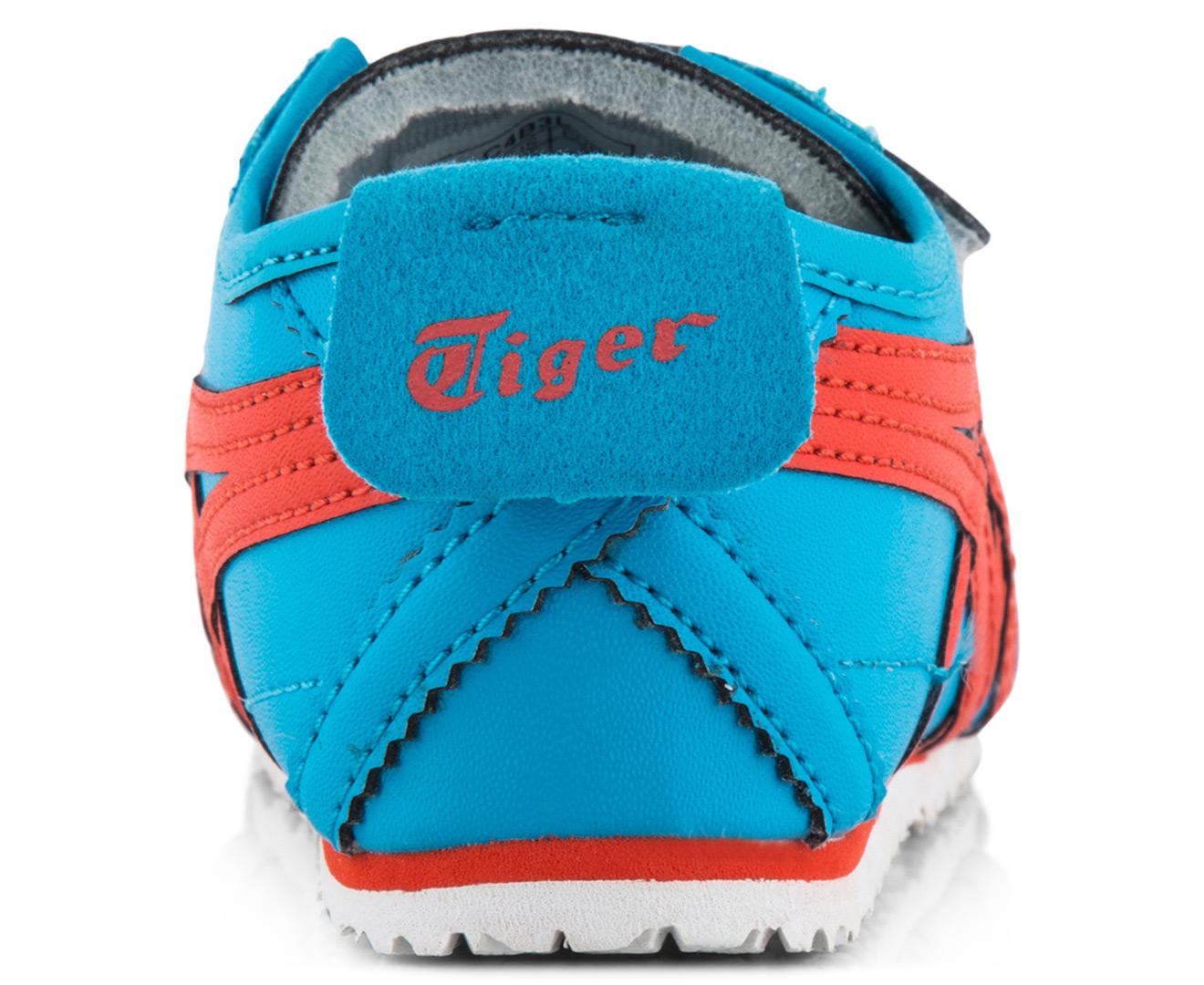 5002e500c2d71 Onitsuka Tiger Toddler Mexico 66 Baja TS Shoe - Malibu Blue Orange ...