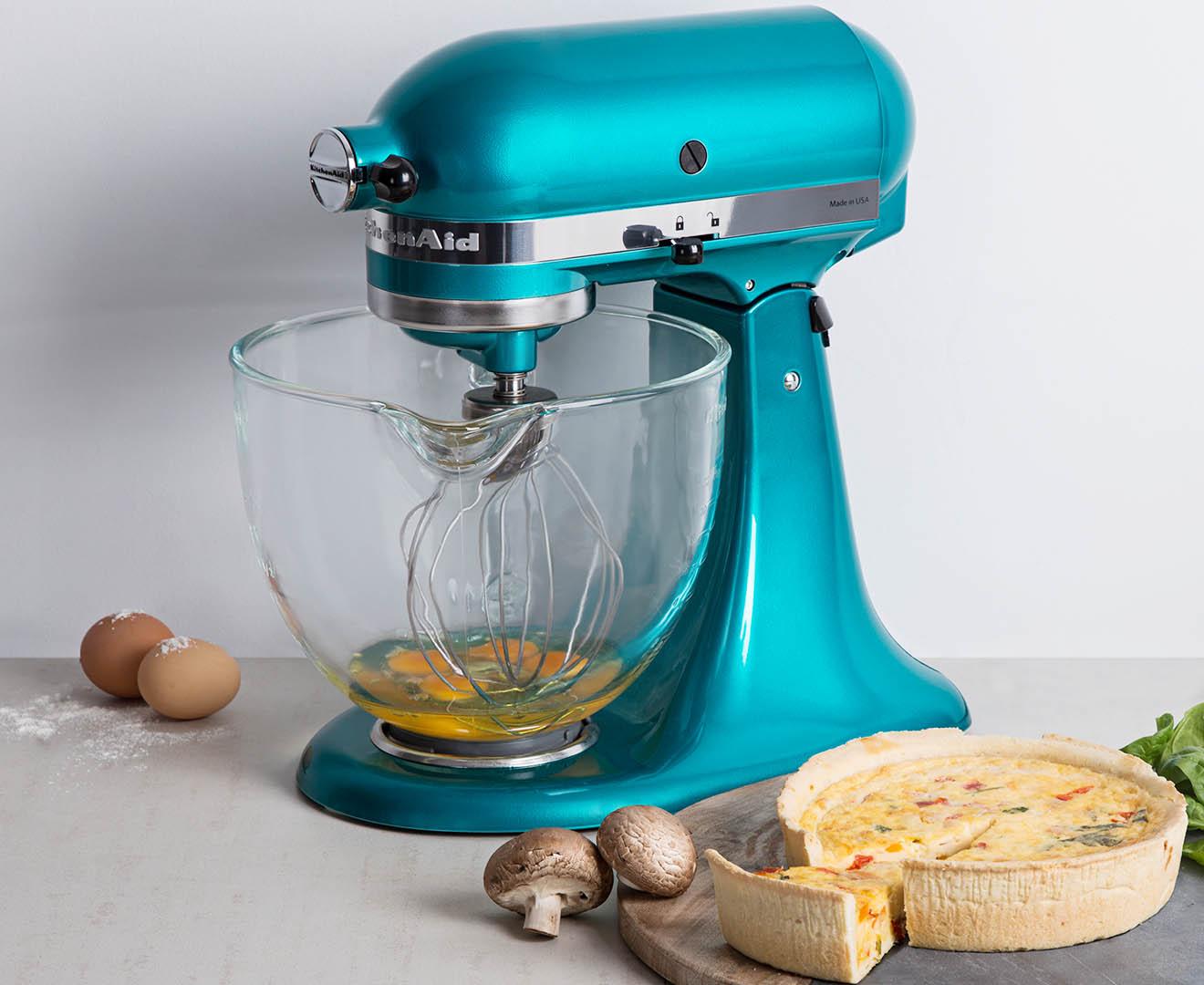 KitchenAid KSM155 Artisan Stand Mixer - Sea Glass | Catch.com.au