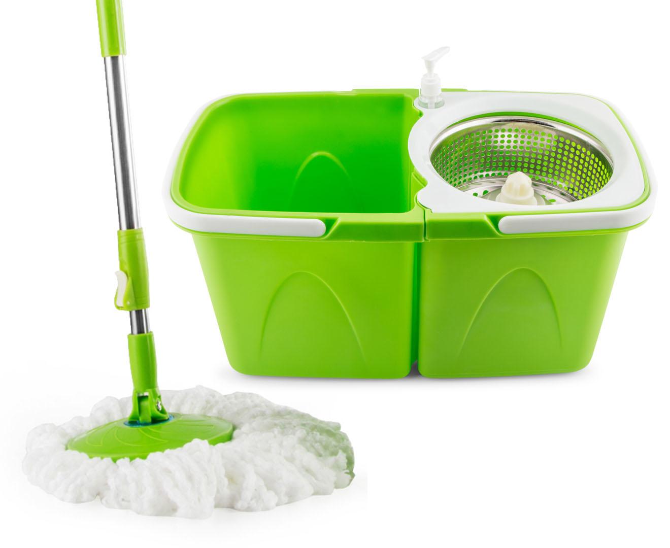 Panache 360 Degree Split Bucket Spin Mop 200611811501 Ebay