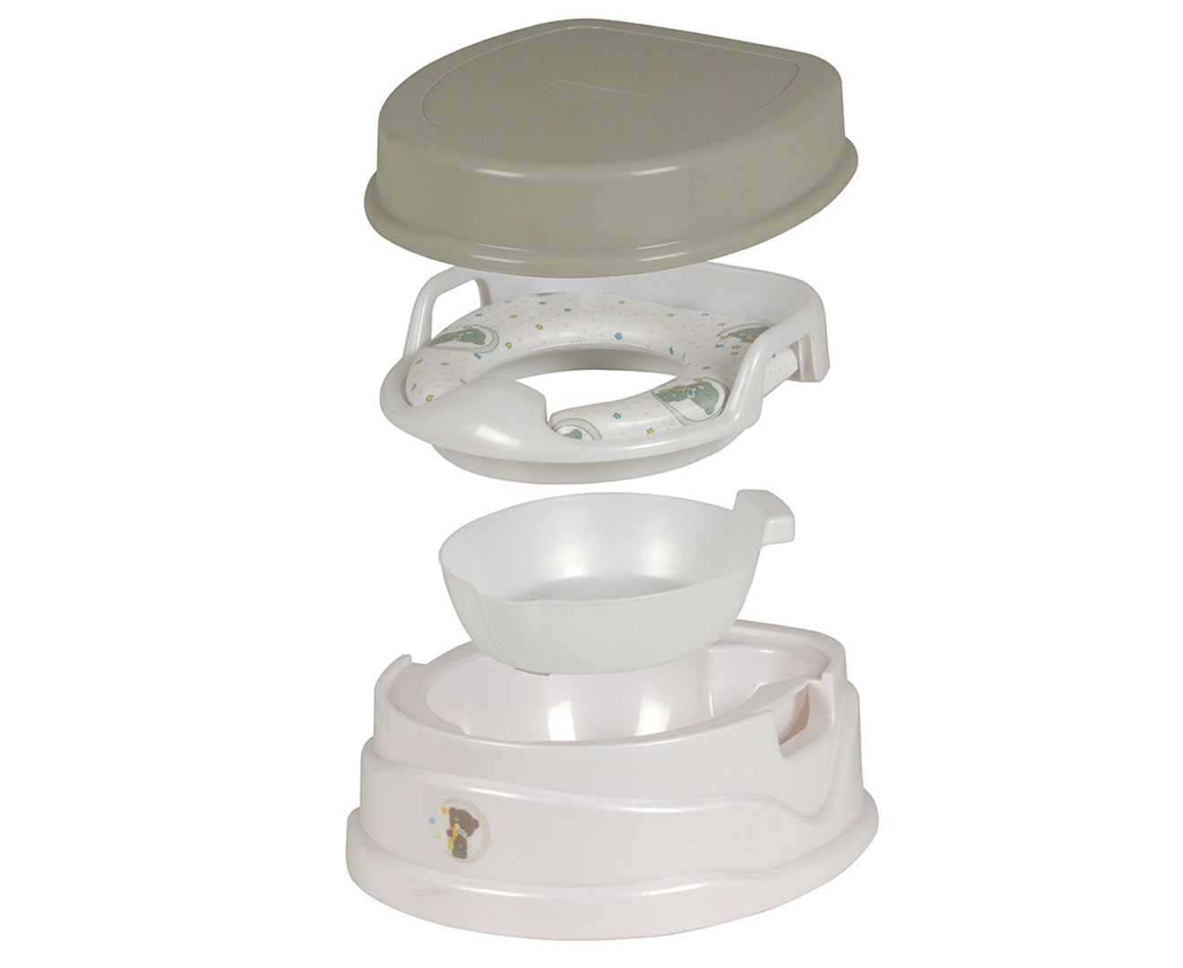 Childcare 4 In 1 Toilet Trainer Set Great Daily Deals At