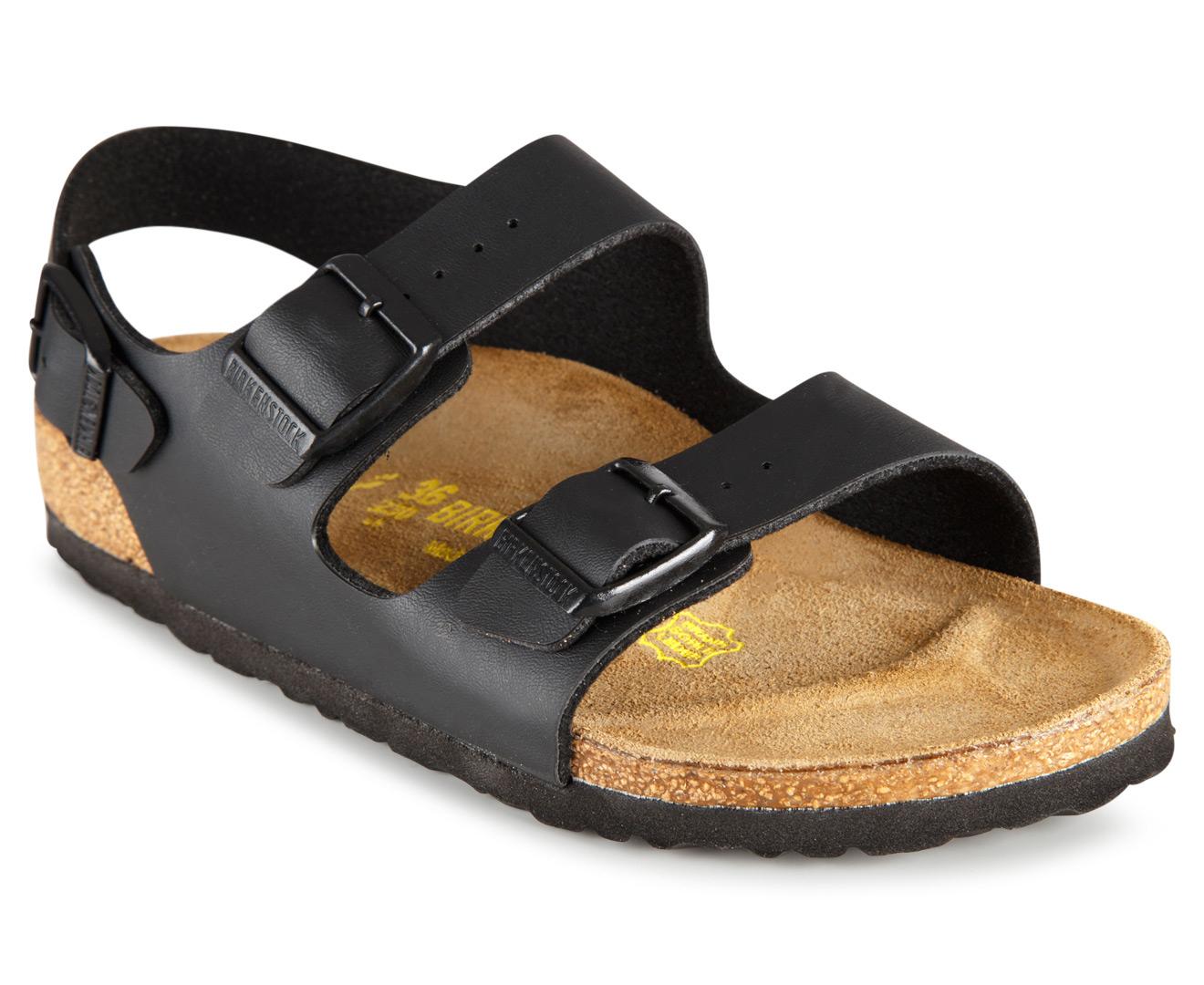 0847ea5dd2d5 Birkenstock Unisex Milano Narrow Fit Sandal - Black