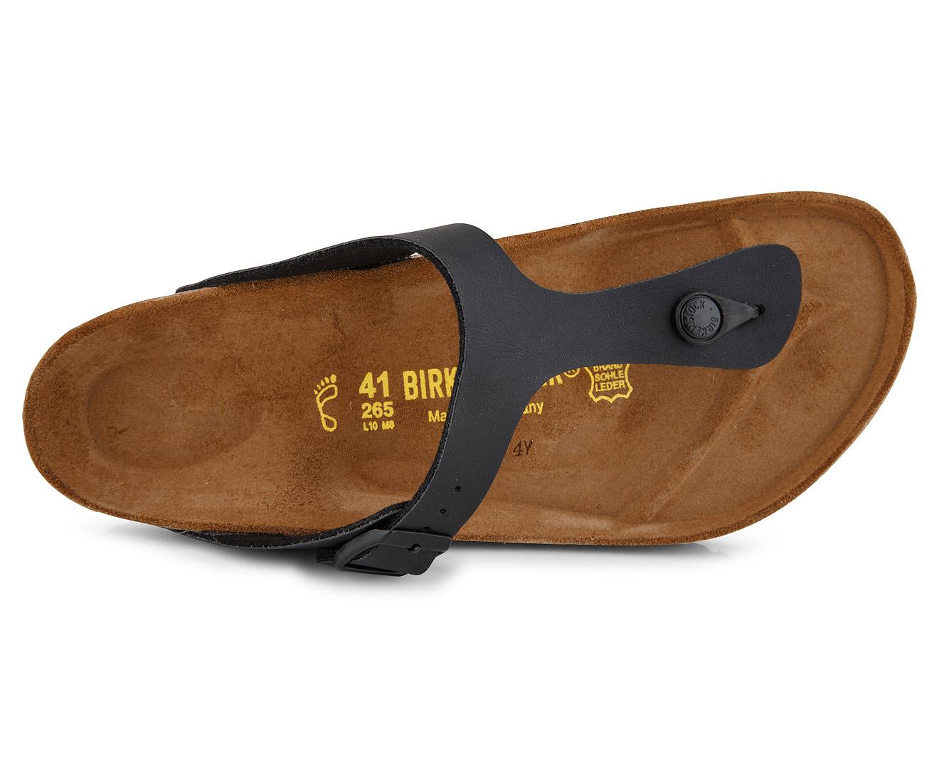 birkenstock gizeh birko flor sandal black great daily. Black Bedroom Furniture Sets. Home Design Ideas