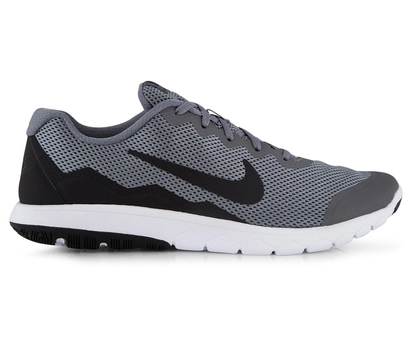Nike Men's Flex Experience RN 4 Shoe Cool GreyBlackWhite