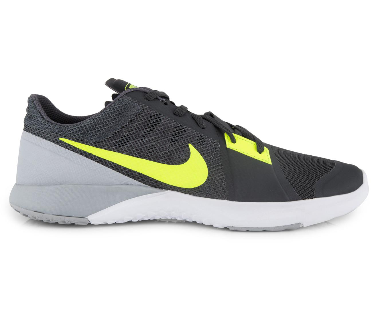 get cheap e9ad0 1c39e Nike Men's FS Lite Trainer 3 Shoe - Anthracite/Volt/Wolf Grey