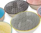 Cooper & Co. 6Pc New Urban Textured 15.5cm Bowls - Assorted 6