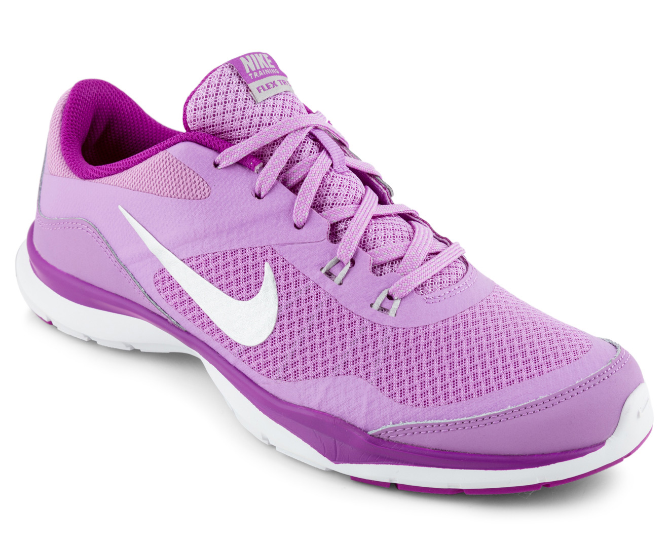 b1fec3eeac1ce Nike Women s Flex Trainer 5 Shoe - Fuchsia Glow Metallic Silver ...