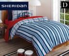 Sheridan Kids Benjamin Double Quilt Cover Set - Navy 1