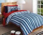 Sheridan Kids Benjamin Single Quilt Cover Set - Navy 2
