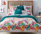Sheridan Botanik King Bed Standard Quilt Cover Set - Fiesta    2