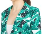 Kardashian Kollection Women's Printed Blazer - Martinique  6