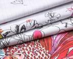 Sheridan Botanik King Bed Standard Quilt Cover Set - Fiesta    4
