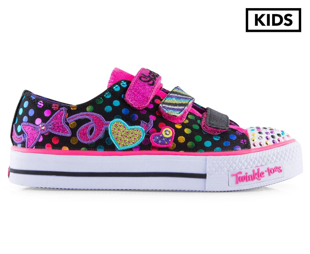 Sketchers Chaussures Pour Enfants Scintillent Orteils Australie AqlI7Y