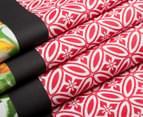 Belmondo Osaka Queen Bed Quilt Cover Set - Multi 4