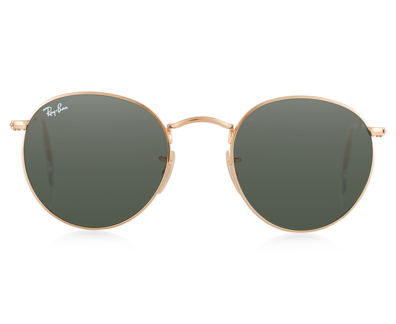 c5ab273328d Ray-Ban Classic Round Sunglasses - Gold Green