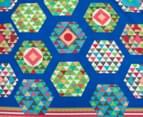 Apartmento Soda Reversible Double Quilt Cover Set - Blue 3