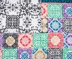 Apartmento Boho Reversible Double Quilt Cover Set - Multi 5