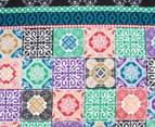 Apartmento Boho Reversible Single Quilt Cover Set - Multi 3