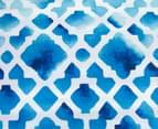 Apartmento Cayo Reversible Queen Quilt Cover Set - Blue 3