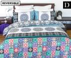 Apartmento Boho Reversible Double Quilt Cover Set - Multi 1