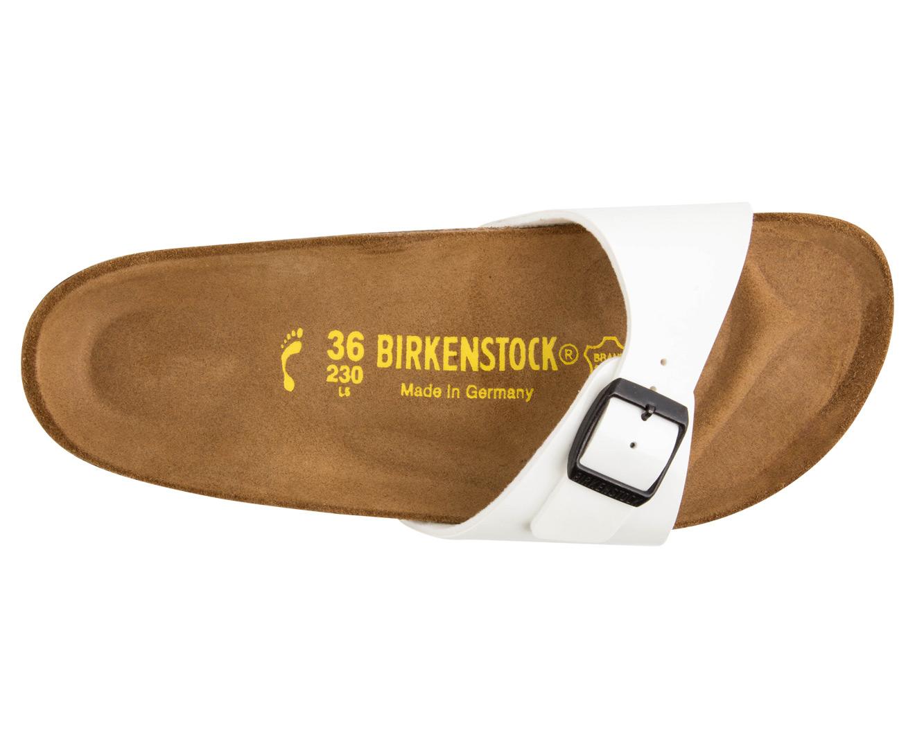 3b95cc37f08 Birkenstock Madrid Birko-Flor Narrow Fit Sandal - White